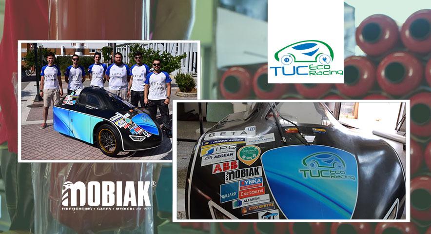 Η MOBIAK υποστηρίζει την ομάδα TUCer του Πολυτεχνείου Κρήτης